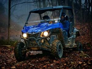 Мотовездеход Yamaha Wolverine R-Spec Blue