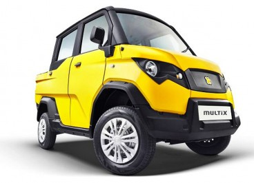 Мотовездеход автомобиль eicher polaris multix