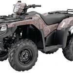 Квадроцикл ATV Honda Foreman Rubicon камуфляж