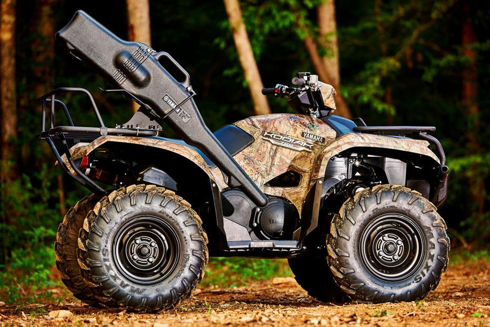 Новый квадроцикл Yamaha Kodiak