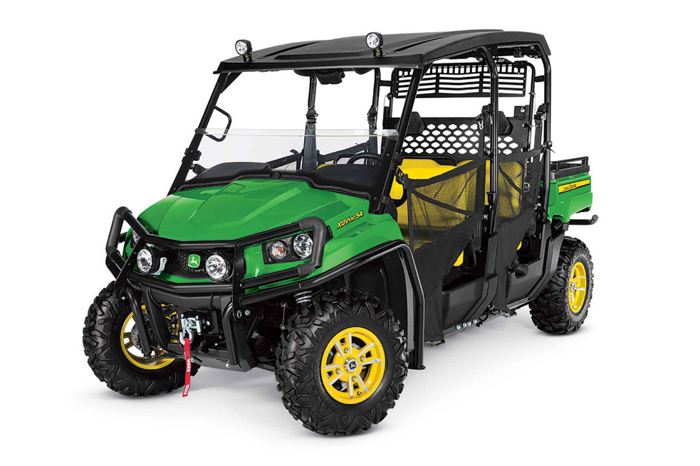 Новый мотовездеход John Deere Gator XUV 550