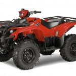 Утилитарный квадроцикл Yamaha Kodiak красный