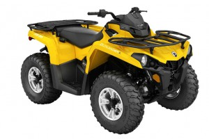 Новый квадроцикл Can-Am Outlander L