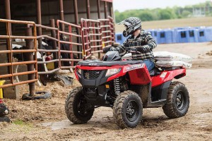 Новый квадроцикл Arctic Cat Alterra