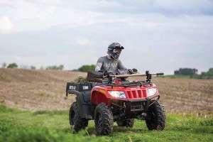 Новый квадроцикл Arctic Cat TBX
