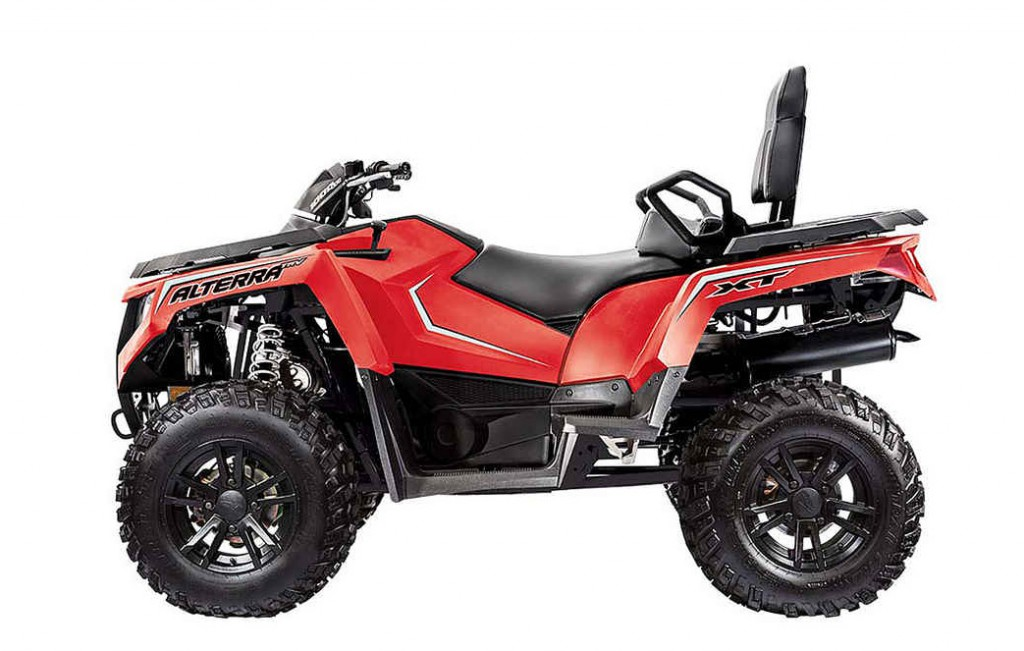 Новый квадроцикл Arctic Cat