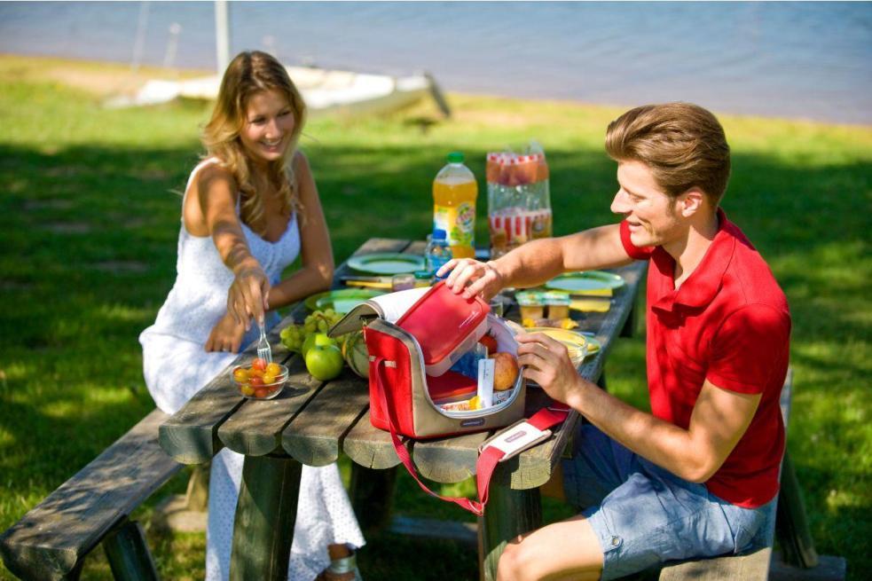 Изотермическая сумка - всегда прохладные напитки и фрукты!