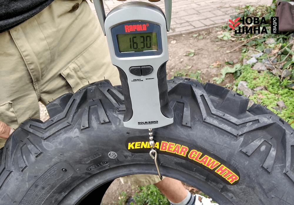 Шина на квадроцикл Kenda K587 Bear Claw HTR-01