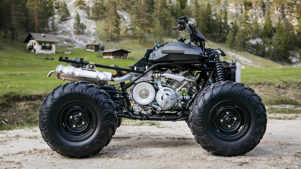 Yamaha Kodiak 450 2018 - 23
