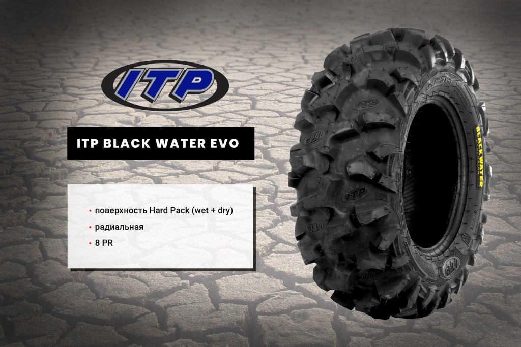 Шины на квадроцикл ITP Black Water Evolution