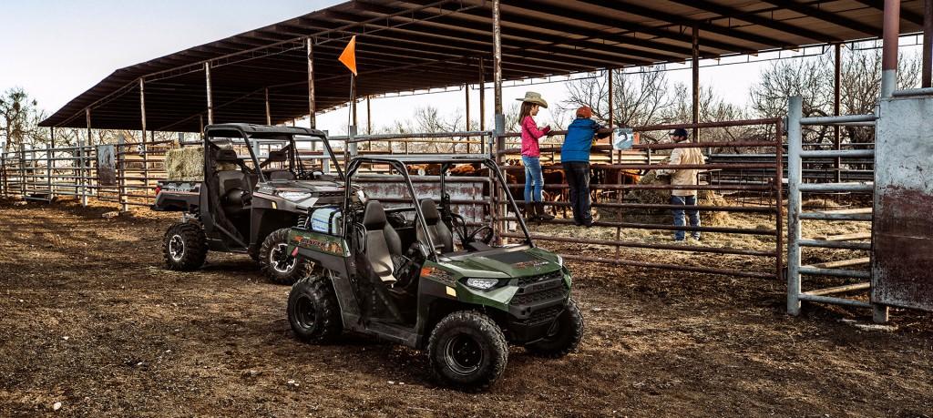 Мотовездеход Polaris Ranger 150